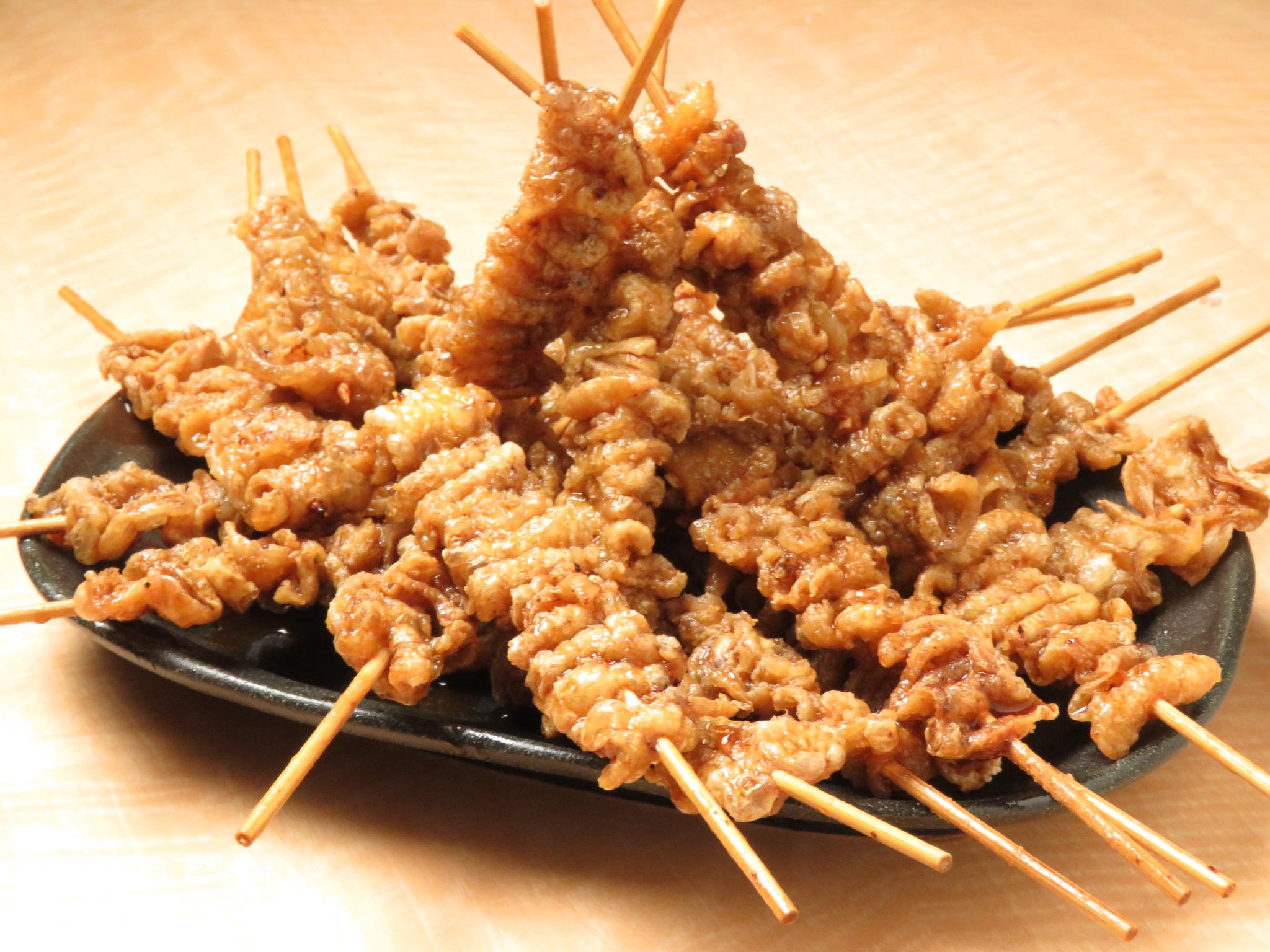 大井町の鶏料理専門店[とりいちず]の絶品とり皮