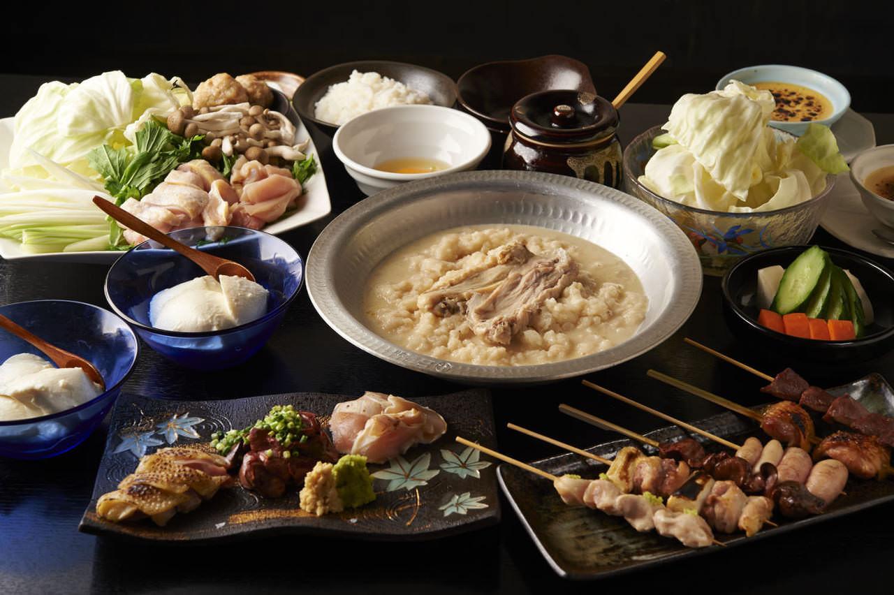 とりいちず 大井町西口店の鶏料理が満喫できるコース
