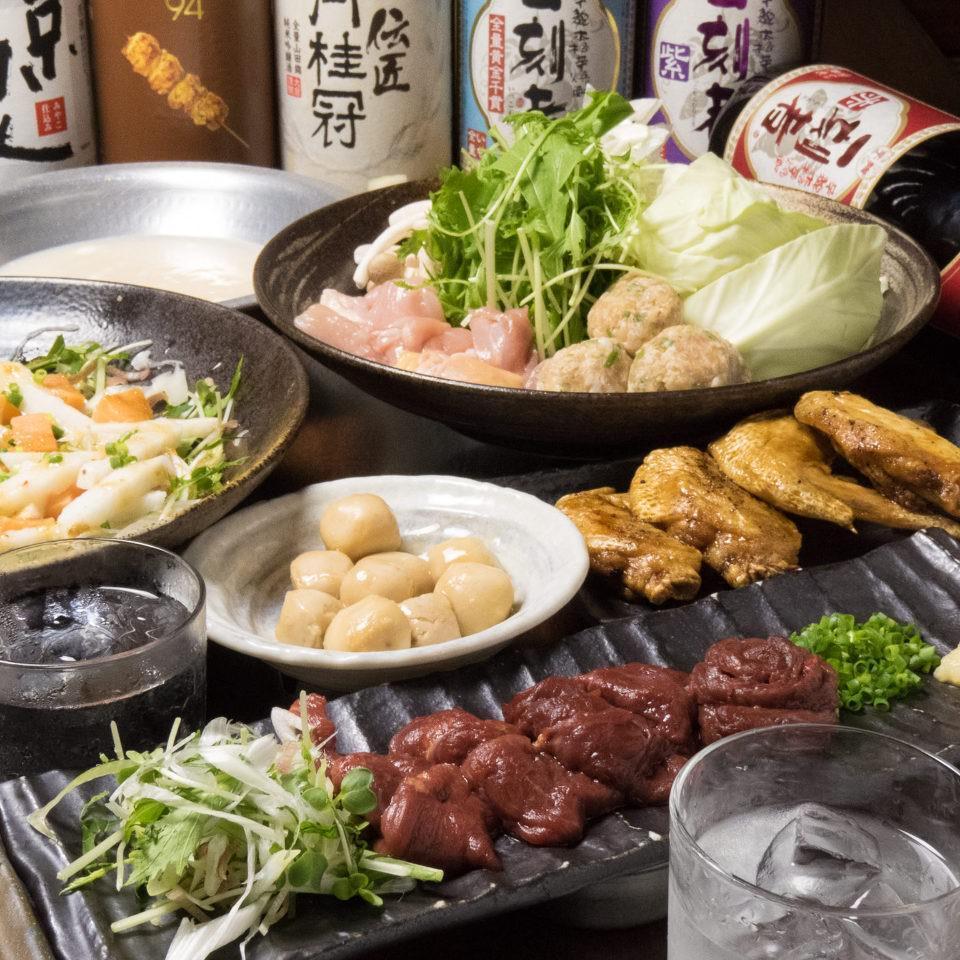 とりいちず 大井町西口の鶏料理が満喫できるコース
